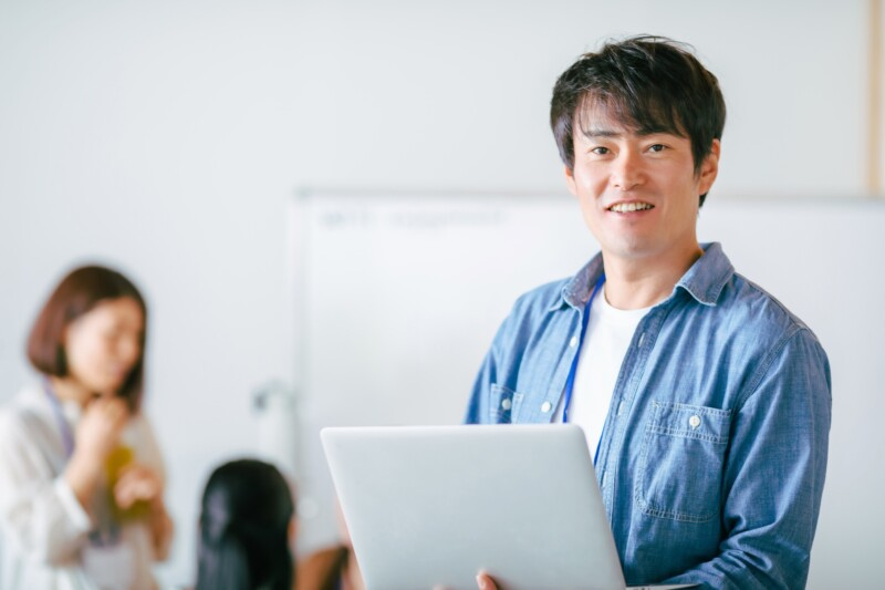 GEEKJOBはオンラインでも現役エンジニア講師が学習をサポート